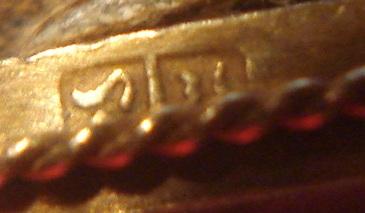 Gold Scarab Hallmarks