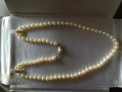 Value of Mikimoto Lane Crawford Pearls