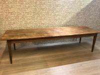 Large Rustic French farmhouse table with character ...