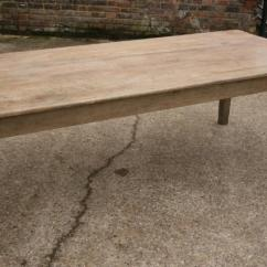 Antique Kitchen Table Flooring Beech Rustic Farmhouse Old