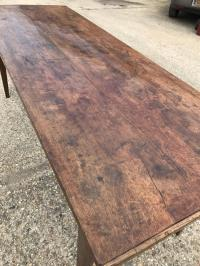 Oak rustic farmhouse table , Antique tables. Dining tables ...
