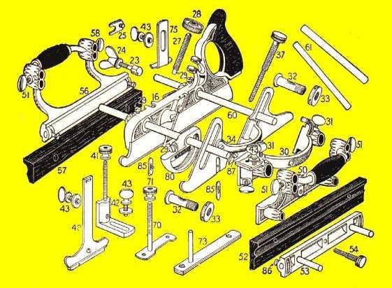 Stanley No 220 Parts