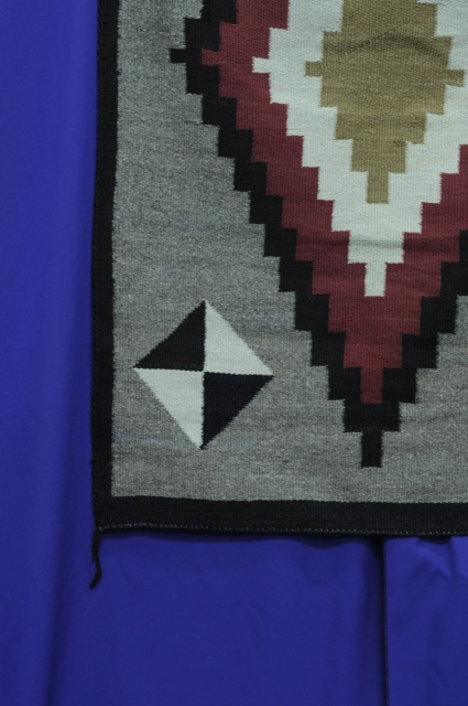 14121702 Navajo Rug Storm Pattern Influence