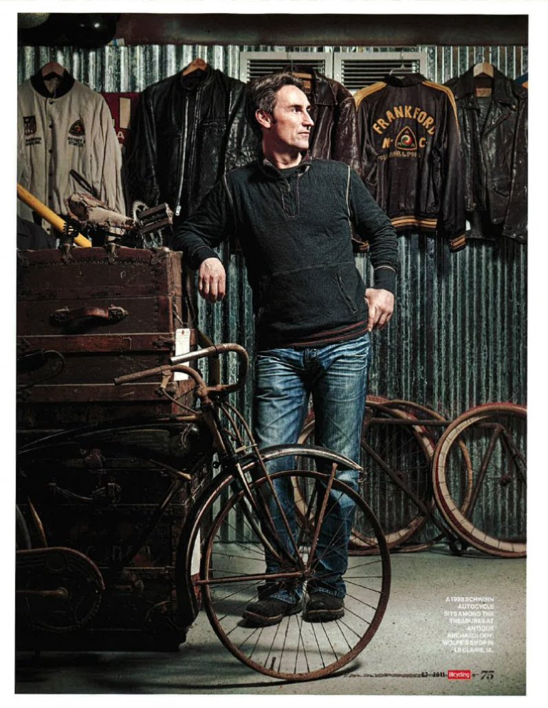 mike wolfe, american picker, antiques, antique archaeology, vintage tee, vintage home decor, schwinn