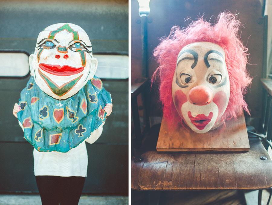 creepy clown photos