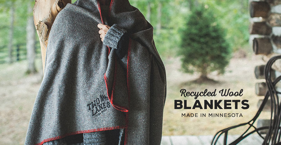 recycled wool blankets