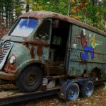 """Original Aerosmith tour van found in small Massachusetts town by """"American Pickers"""""""