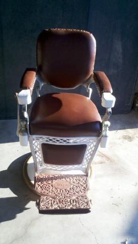 antique dentist chairs clear dining nz louis hanson barber chair
