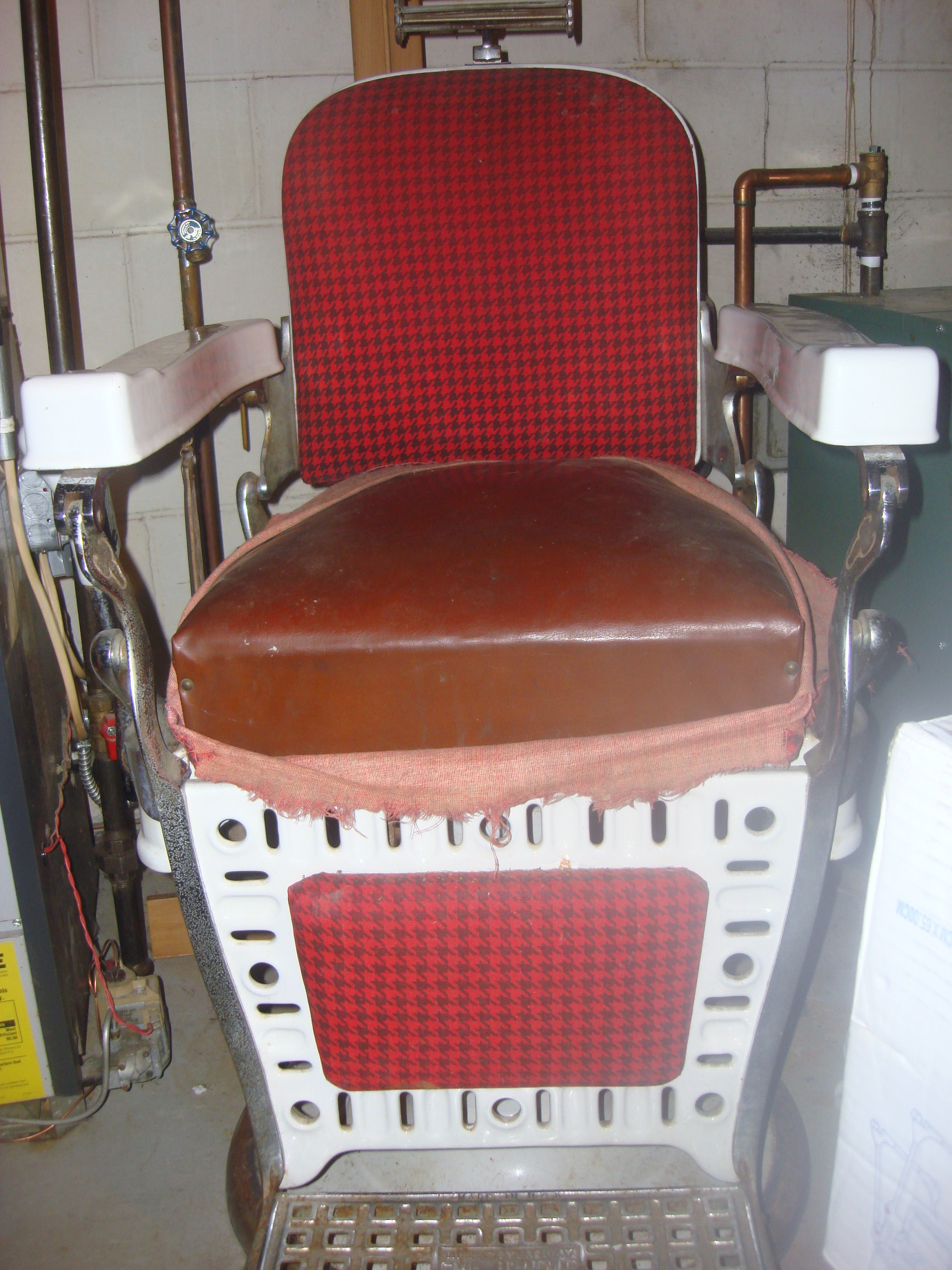 used barber chair for sale stand up fitness test antique chairs marketplace  buy and sell