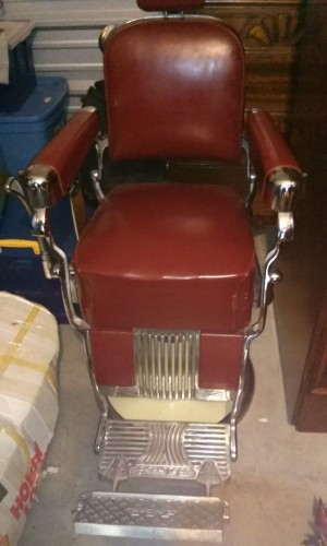 1950s Belmont Barber Chair