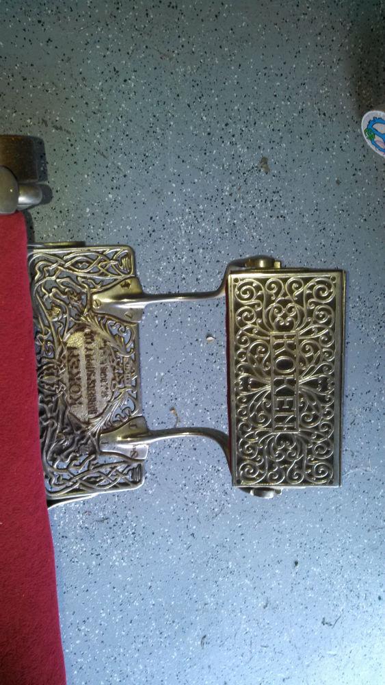 belmont barber chair parts felt glides for sale: red velvet, wooden base 1890s koken