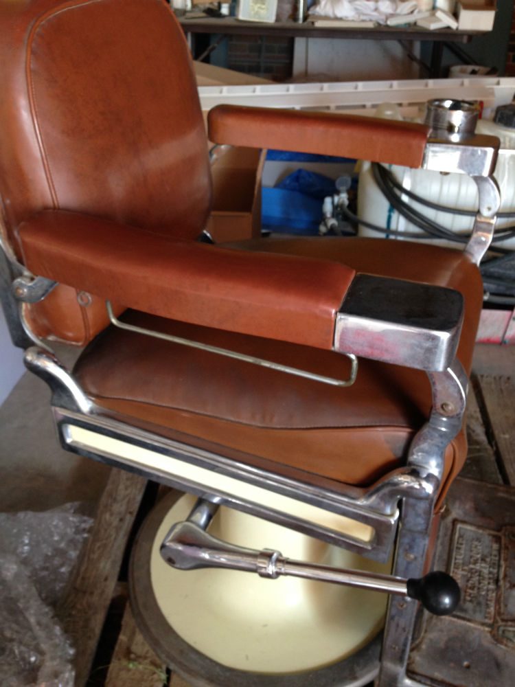 Theo A Kochs Antique Barber Chair