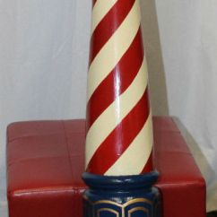 Wooden Chairs Pictures Dining Room Chair Covers At Kohls Early 1900's Barber Shop Pole