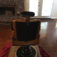 Koken Barber Chair For Sale Ted Modern Barrel Louis Hanson Antique In Good Condition