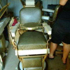 Booster Seat Chair Covered Folding 1926 Koken Barber