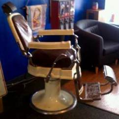 Barber Chair Parts Double Papasan Cushion Essential Koken Antique Chairs Online