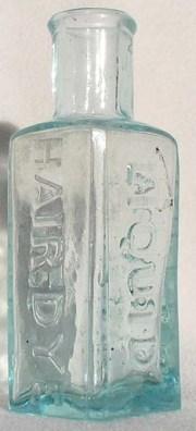 reggie's antique hair bottles