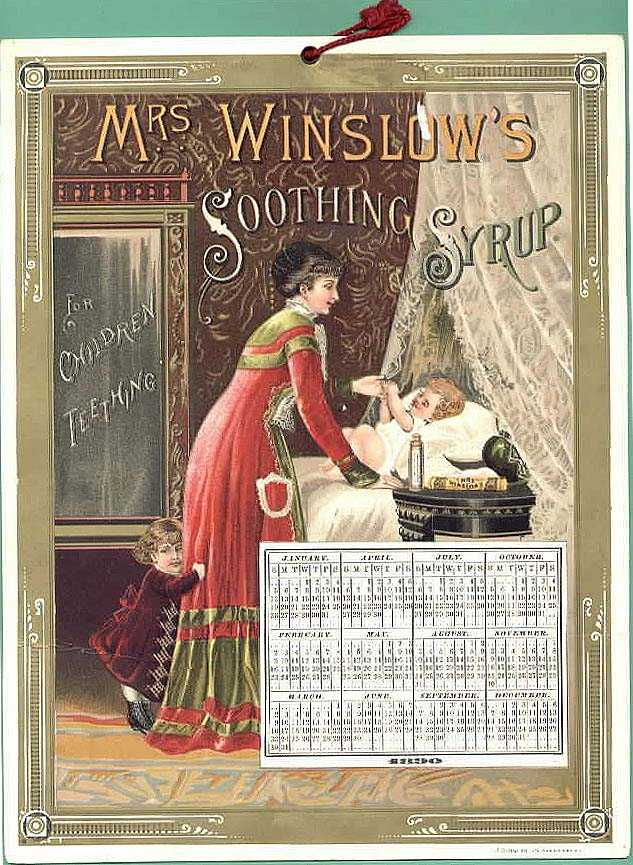 Mrs Winslow's Soothing Syrup Victorian Trade Cards