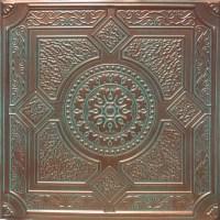 """24""""x24"""" Peru Antique Copper Patina PVC 20mil Ceiling Tiles ..."""
