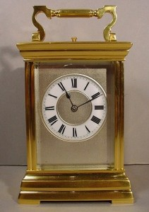 1carriage Clock