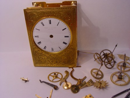 Carriage Clock Repair 3