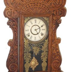 Gilbert Kitchen Clock 4 Person Table Company Author Sets, Pattern No. 160 Antique ...
