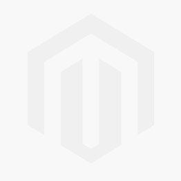 Distressed Metal Lamp With Cannon Ball Accent Antique