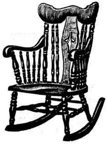Antique Oak Saddle Seat Rocker At Antique FurnitureUS