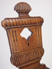 Antique Georgian Hall Chair - Antique Welsh Chair
