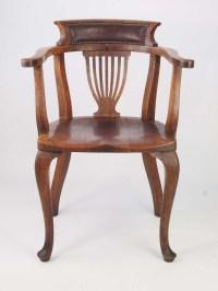Vintage Oak Desk Chair