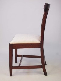 Antique Georgian Mahogany Desk Chair / Side Chair