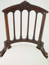 Small Antique Victorian Chair / Dressing Table Chair