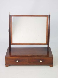 Antique Regency Toilet Mirror / Vanity Mirror