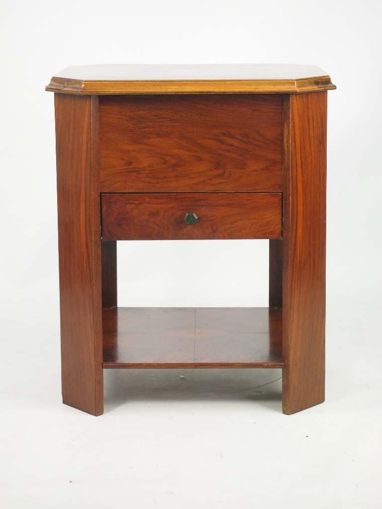 Padded Coffee Table Storage