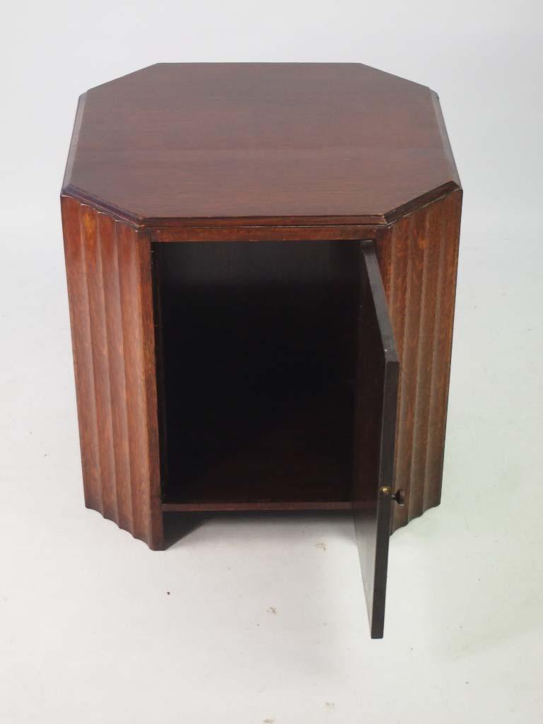 Art Deco Oak Book Table / Coffee Table
