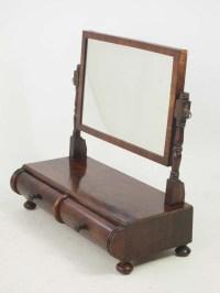 Antique Regency Dressing Table Mirror