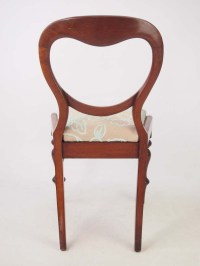 Antique Victorian Mahogany Dressing Table Chair / Desk ...