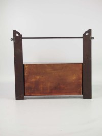 Victorian Walnut Hanging Cabinet / Bathroom Cabinet