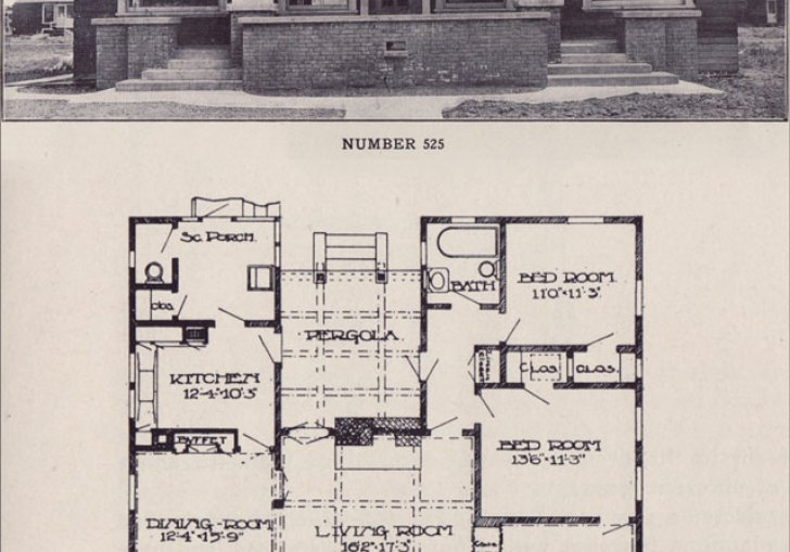 Bungalow Style Home Plans