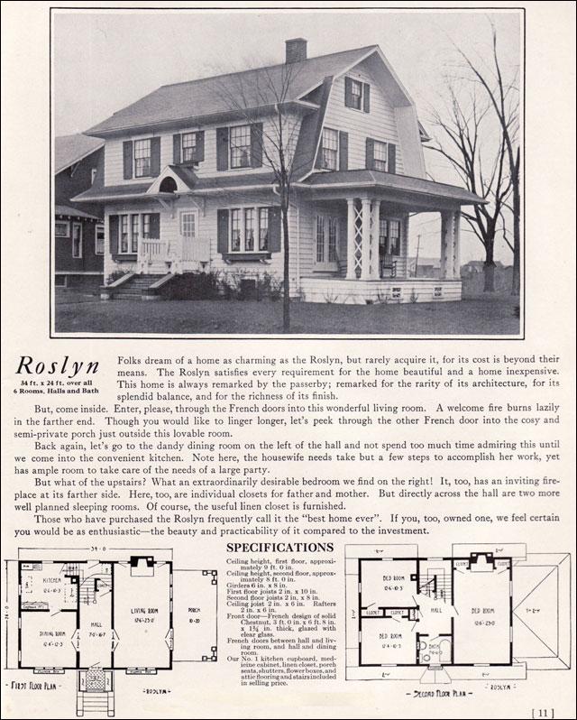 1920 s dutch colonial floor plan for House plan companies