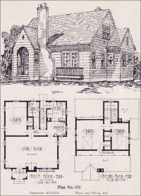 1926 Universal Plan Service - No. 578 - Modern English ...