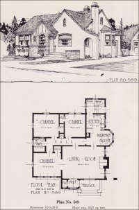 1926 Universal Plan Service - No. 589 - English Tudor ...
