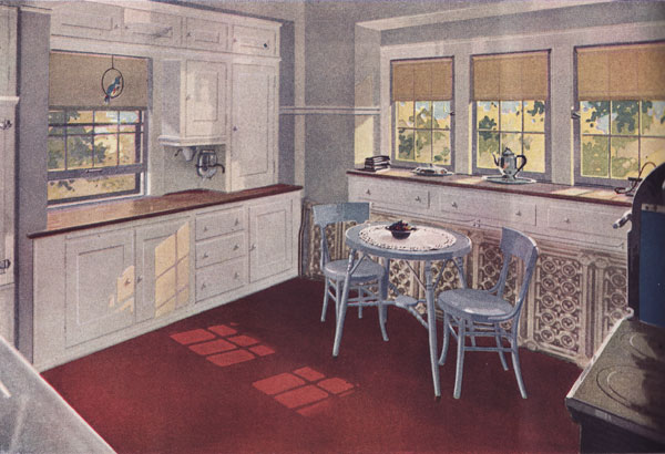 1920s Kitchen Colors More Kitchens