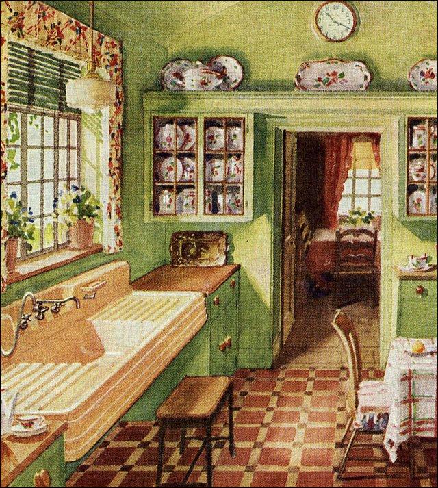 1920s Kitchen Decorating Ideas
