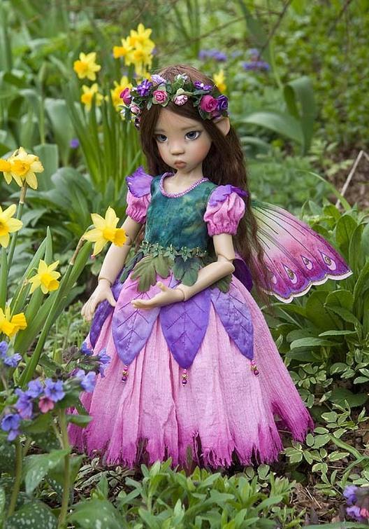 Petunia Fairy  MSD Gallery 2011  Antique Lilac