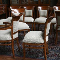 Upholstered Chairs For Dining Room 1800 Barber Chair Mahogany With Back Ebay