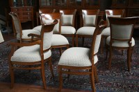 Mahogany Dining Room Chairs With Upholstered Back | eBay