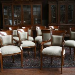 Upholstered Chairs For Dining Room Walgreens Power Lift Mahogany With Back Ebay