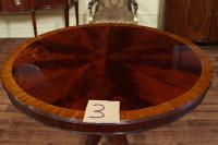 Dining Table: Round Dining Table Mahogany