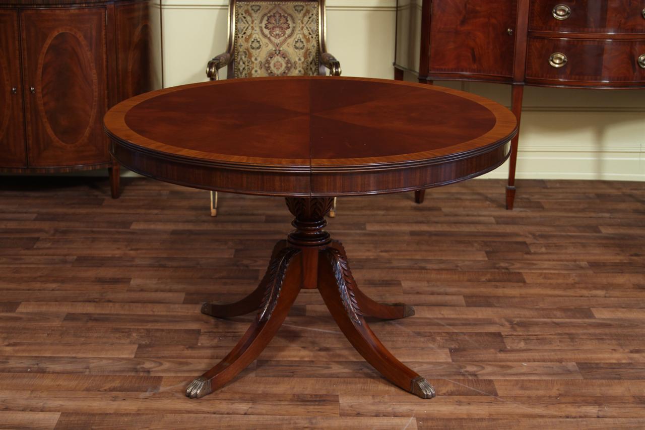 Round Dining Room Table Leaf